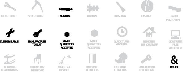 Company Summary Icons